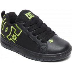 DC Tenisówki Chłopięce Ct Graffik Se B Shoe bk9 Black/Black/Soft Lime 28. Czarne trampki i tenisówki chłopięce DC, z gumy, sportowe. W wyprzedaży za 169.00 zł.