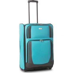 Średnia Materiałowa Walizka TITAN - Merik 196410/02-25 M Bluebird. Niebieskie walizki damskie Titan, z materiału. W wyprzedaży za 179.00 zł.