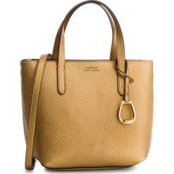 Torebka LAUREN RALPH LAUREN - 431730284006  Bronze/Black. Żółte torebki do ręki damskie Lauren Ralph Lauren, ze skóry ekologicznej. Za 649.00 zł.