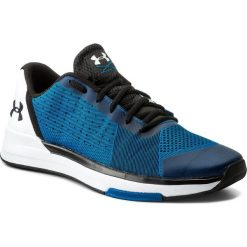 Buty UNDER ARMOUR - Ua Showstopper 1295774-899 Csb/Wht/Blk. Niebieskie buty sportowe męskie Under Armour, z gumy. W wyprzedaży za 239.00 zł.