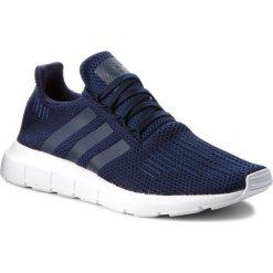 Buty adidas - Swift Run B37727 Conavy/Conavy/Ftwwht. Niebieskie buty sportowe męskie Adidas, z materiału. W wyprzedaży za 299.00 zł.