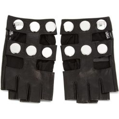 Rękawiczki Damskie KARL LAGERFELD - 86KW3602 Black 999. Czarne rękawiczki damskie KARL LAGERFELD, ze skóry. Za 459.00 zł.
