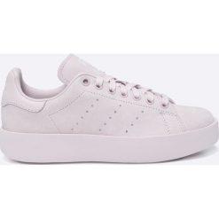 Adidas Originals - Buty Stan Smith Bold. Szare obuwie sportowe damskie adidas Originals, z gumy. W wyprzedaży za 399.90 zł.