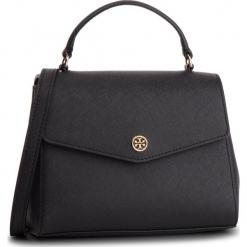 Torebka TORY BURCH - Robinson Small Top-Handle Satchel 49686 Black 001. Czarne torebki do ręki damskie Tory Burch, ze skóry. Za 1,509.00 zł.