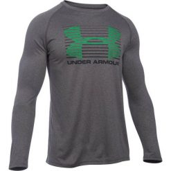 UA Tech Rise Up Longsleeve 1280982-090. Szare bluzki z długim rękawem męskie Under Armour, z materiału. W wyprzedaży za 119.99 zł.