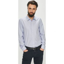 Joop! - Koszula. Szare koszule męskie JOOP!, z bawełny, z klasycznym kołnierzykiem, z długim rękawem. W wyprzedaży za 279.90 zł.