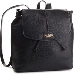 Plecak MY TWIN - Zaino RA8TEN  Nero 00006. Czarne plecaki damskie My Twin, ze skóry ekologicznej. Za 459.00 zł.