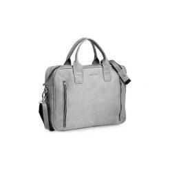 Szara męska torba na ramię brodrene bl02, Kolor wnętrza: Czarny. Torby na laptopa męskie marki Piquadro. Za 350.00 zł.