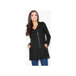 Płaszcz M405 Czarny. Czarne płaszcze damskie Figl, z wełny. Za 249.00 zł.
