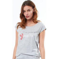 Etam - Top piżamowy Joelle. Piżamy damskie marki MAKE ME BIO. W wyprzedaży za 34.90 zł.