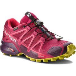Buty SALOMON - Speedcross 4 Gtx GORE-TEX 404666 22 G0 Beet Red/Poten. Czerwone obuwie sportowe damskie Salomon, z gore-texu. W wyprzedaży za 489.00 zł.
