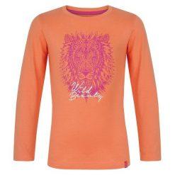 Loap Koszulka Dziewczęca Z Długim Rękawem Izida 158/164 Pomarańczowa. Brązowe bluzki dla dziewczynek Loap, z długim rękawem. W wyprzedaży za 17.00 zł.