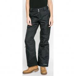 Columbia - Spodnie snowboardowe Bugaboo OH. Brązowe spodnie snowboardowe damskie Columbia, z materiału. W wyprzedaży za 319.90 zł.