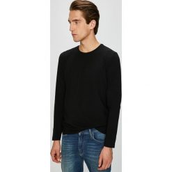 Pierre Cardin - Longsleeve. Czarne bluzki z długim rękawem męskie Pierre Cardin, polo. W wyprzedaży za 99.90 zł.