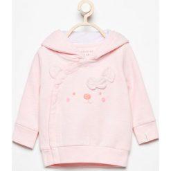 Bluza z asymetrycznym zapięciem - Różowy. Bluzy dla dziewczynek marki Pollena Savona. W wyprzedaży za 24.99 zł.