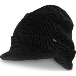 Czapka VANS - Visor Cuff VN0A3HJ8BLK  Black. Czarne czapki i kapelusze męskie Vans. Za 99.00 zł.