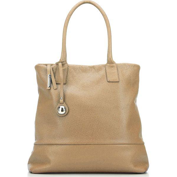 3250bc4d7a1ee Torebka damska 82-4E-001-9 - Brązowe torebki do ręki damskie marki ...