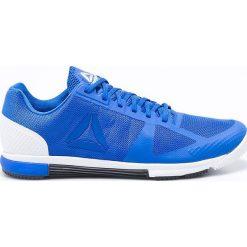 Reebok - Buty Crossfit Speed. Niebieskie buty sportowe męskie Reebok, z materiału. W wyprzedaży za 239.90 zł.