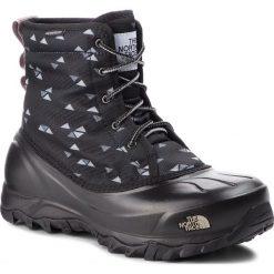 Śniegowce THE NORTH FACE - Tsumoru Boot T93MKT5UB  Tnf Black Triangle Weave Print/Foil Grey. Czarne śniegowce i trapery damskie The North Face, z materiału. Za 499.00 zł.