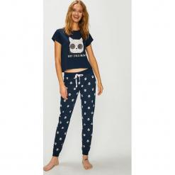 Answear - Piżama. Szare piżamy damskie ANSWEAR, z nadrukiem, z bawełny. Za 119.90 zł.