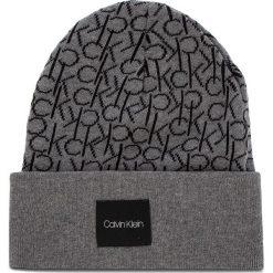 Czapka CALVIN KLEIN - Ck Knitted Beanie M K50K504103 013. Szare czapki i kapelusze męskie Calvin Klein. Za 159.00 zł.