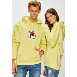Fila - Bluza. Brązowe bluzy męskie Fila, z aplikacjami, z bawełny. W wyprzedaży za 249.90 zł.