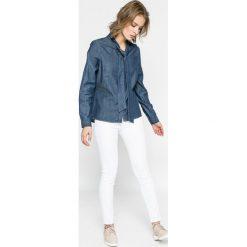 Vero Moda - Koszula. Szare koszule damskie Vero Moda, z bawełny, casualowe, z długim rękawem. W wyprzedaży za 59.90 zł.
