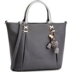 Torebka MONNARI - BAG7550-019 Grey. Szare torebki do ręki damskie Monnari, ze skóry ekologicznej. W wyprzedaży za 207.00 zł.