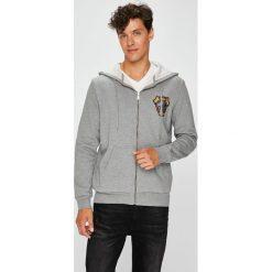 Trussardi Jeans - Bluza. Szare bluzy męskie TRUSSARDI JEANS, z bawełny. Za 339.90 zł.