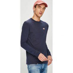 Dickies - Longsleeve. Szare bluzki z długim rękawem męskie Dickies, z bawełny, z okrągłym kołnierzem. W wyprzedaży za 99.90 zł.