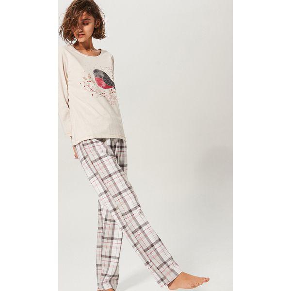 5dc3539a0f6de7 Dwuczęściowa piżama - Jasny szar - Piżamy męskie Reserved. W ...