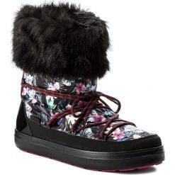 Śniegowce CROCS - Lodgepoint Graphic Lace Boot 204791 Tropical/Black. Kozaki damskie Crocs, z materiału. W wyprzedaży za 259.00 zł.