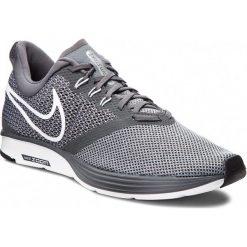 Buty NIKE - Zoom Strike AJ0189 002 Dark Grey/White/Stealth/Black. Szare buty sportowe męskie Nike, z materiału. W wyprzedaży za 249.00 zł.