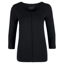 S.Oliver T-Shirt Damski 40 Czarny. Czarne t-shirty damskie S.Oliver. Za 99.90 zł.