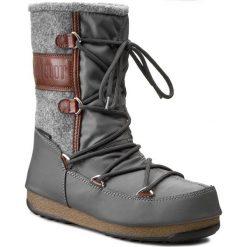 Śniegowce MOON BOOT - Vienna Felt 24004400001  Grigio/Marrone/Grey/Brown. Szare kozaki damskie Moon Boot, z materiału. Za 649.00 zł.