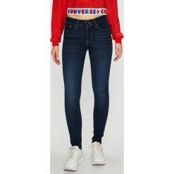 Levi's - Jeansy 711. Brązowe jeansy damskie Levi's. Za 369.90 zł.