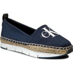 Espadryle CALVIN KLEIN JEANS - Genna R3768 Navy. Niebieskie espadryle damskie Calvin Klein Jeans, z jeansu. W wyprzedaży za 299.00 zł.