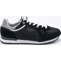 Pepe Jeans - Buty. Czarne buty sportowe męskie Pepe Jeans, z jeansu. W wyprzedaży za 219.90 zł.