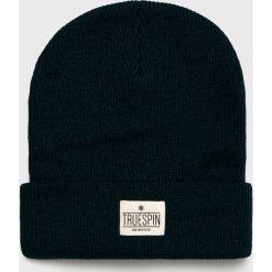 True Spin - Czapka Warm. Czarne czapki i kapelusze męskie True Spin. W wyprzedaży za 49.90 zł.