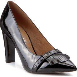 Półbuty CAPRICE - 9-22403-29 Black Patent 018. Czarne półbuty damskie Caprice, ze skóry. W wyprzedaży za 179.00 zł.