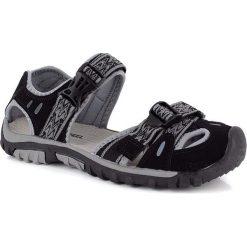 """Sandały trekkingowe """"Baleare"""" w kolorze czarnym. Sandały męskie Kimberfeel, z gumy. W wyprzedaży za 163.95 zł."""