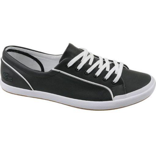 Lacoste Lancelle Lace 6 Eye 731SPW0012024 buty sportowe, trampki uniseks czarne, białe 36