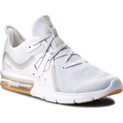 Buty NIKE - Air Max Sequent 3 908993 101 White/Pure Platinum. Białe obuwie sportowe damskie Nike, z materiału. W wyprzedaży za 299.00 zł.