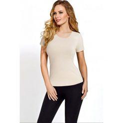 Gaia Koszulka damska BLV 018 Beżowy r. S. T-shirty damskie Gaia. Za 41.41 zł.
