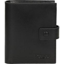 Czarny portfel męski. Czarne portfele męskie Kazar. W wyprzedaży za 174.00 zł.