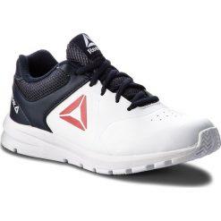 Buty Reebok - Rush Runner CN5323 White/Navy/Red. Białe obuwie sportowe damskie Reebok, z materiału. W wyprzedaży za 139.00 zł.