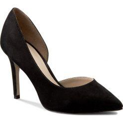 Szpilki BRONX - 75001-H-01 Black. Czarne szpilki damskie Bronx, z nubiku. W wyprzedaży za 249.00 zł.