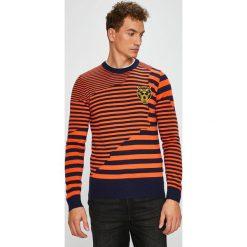 Diesel - Sweter. Różowe swetry przez głowę męskie Diesel. Za 949.90 zł.