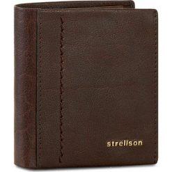 Duży Portfel Męski STRELLSON - Walker 4010001795 Dark Brown 702. Brązowe portfele męskie Strellson, ze skóry. W wyprzedaży za 129.00 zł.