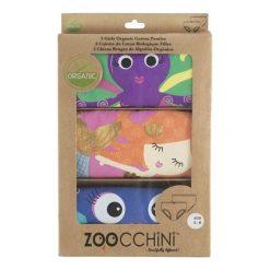 Zoocchini Majteczki Girl 3-4 lata Coral. Brązowe bielizna dla dziewczynek Zoocchini. Za 55.64 zł.